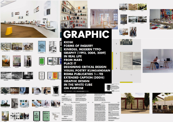 in 2009 graphic a quarterly magazine based in korea which covers through monographic issues topics that are topical for the practice and critique of - Graphic Design Project Ideas
